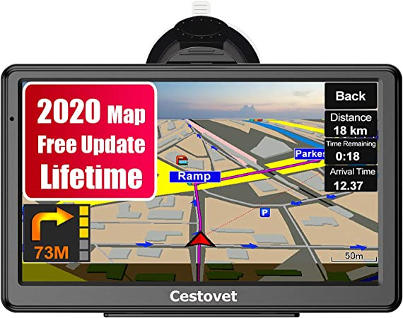 Amazon Com Gps Navigation For Car 7 Inch Hd Touch Screen Car Gps Voice Broadcast Navigation Free North America Map Updata Contains Usa Canada Mexico Map Gps Navigation