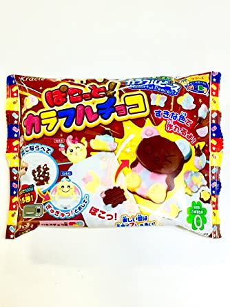 Kracie Colorful Peace Pokotto Chocolate DIY Mold kit