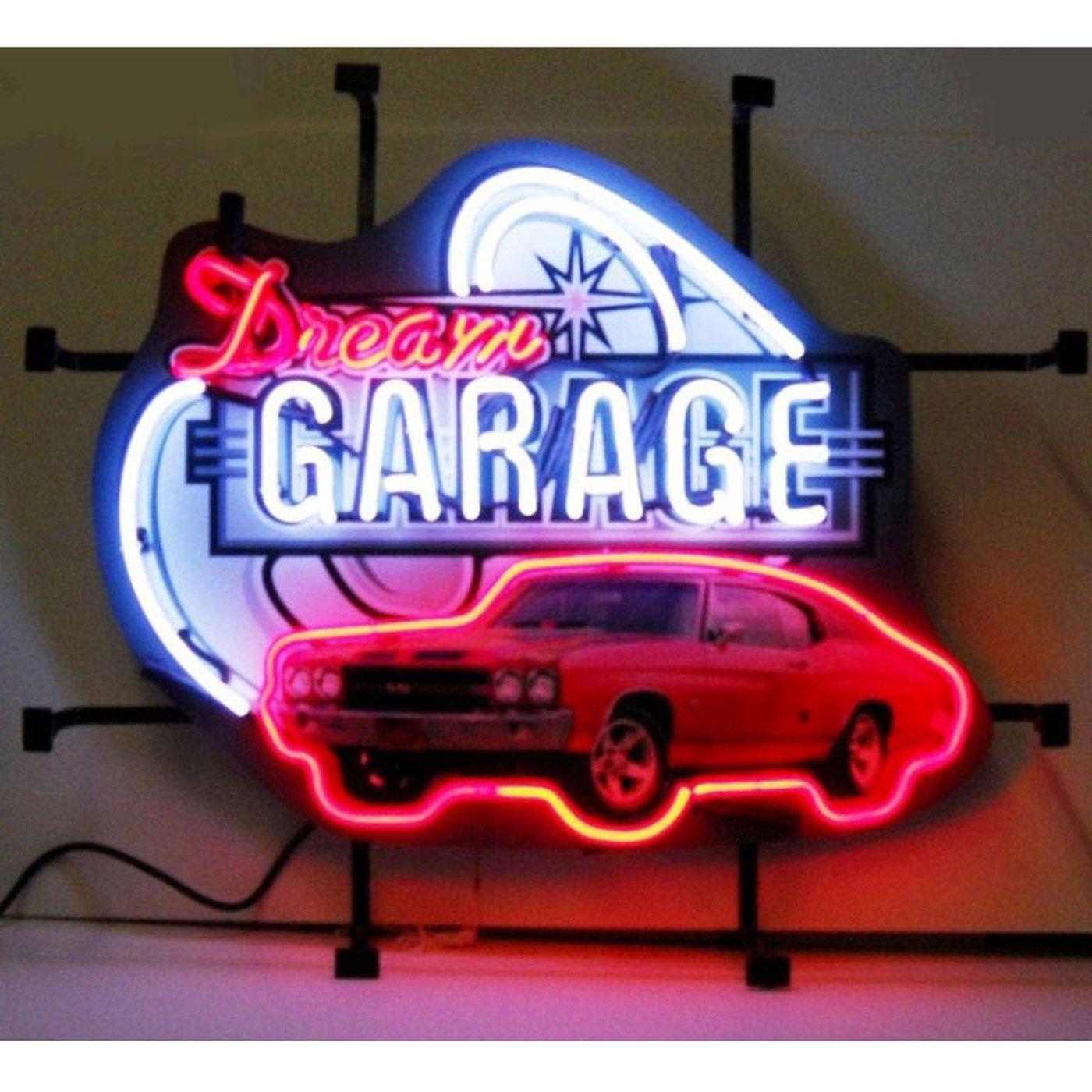 Neonetics Home Indoor Pub Restaurant Hotel Room Decorative Dream Garage Chevy...