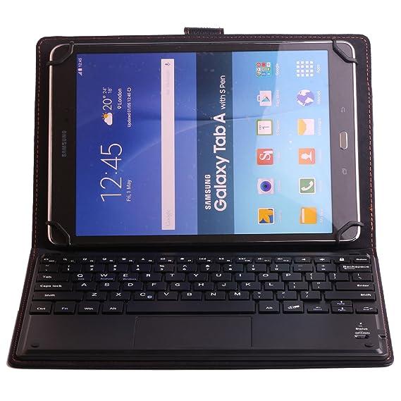 Universal 10 Tablet Keyboard Leather Case, Samsung Galaxy Tab Pro 10.1 Keyboard Case