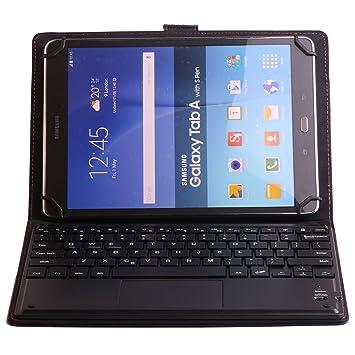 J&H - Funda de Piel para Tablet Alcatel Pixi 3 (10), Funda de