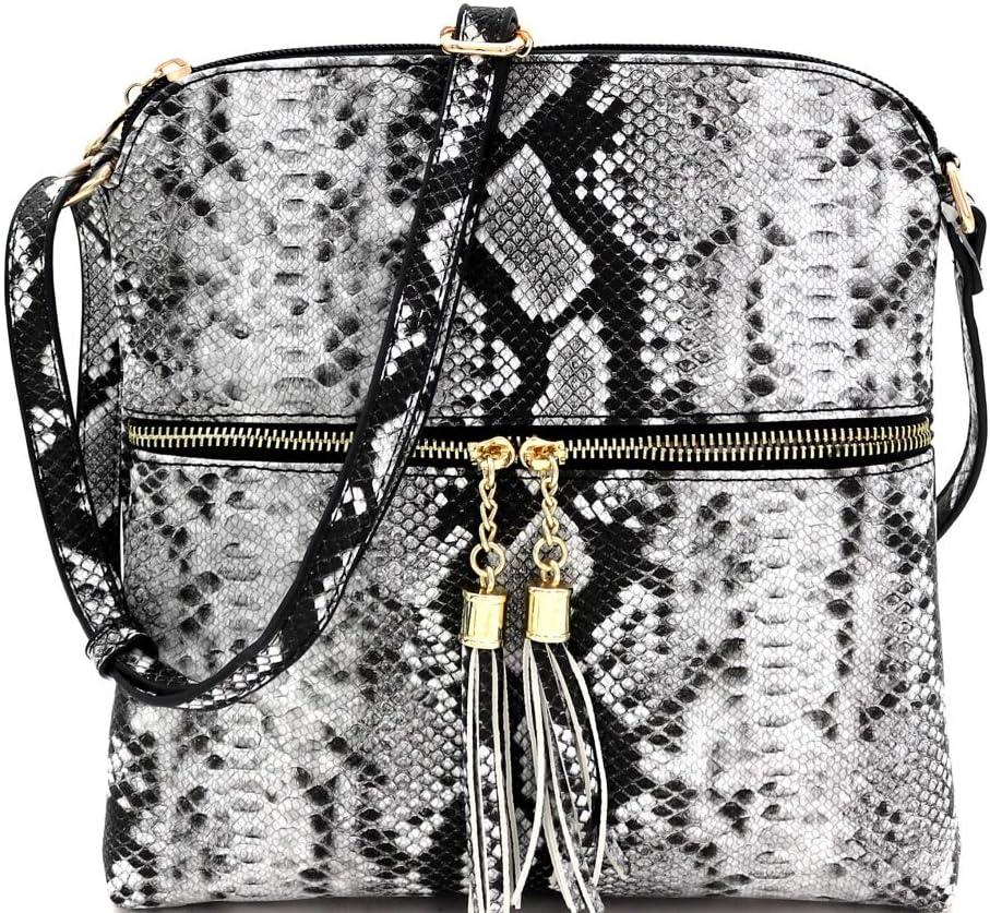 leather bag army green snake stamp bag stamped leather snake stamp waist bag Women leather belt bag