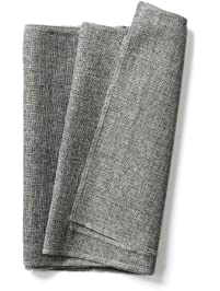 Lingu0027s Moment Gray Burlap Table Runner Imitated Linen Wrinkle Free 14 X 48  Inch For