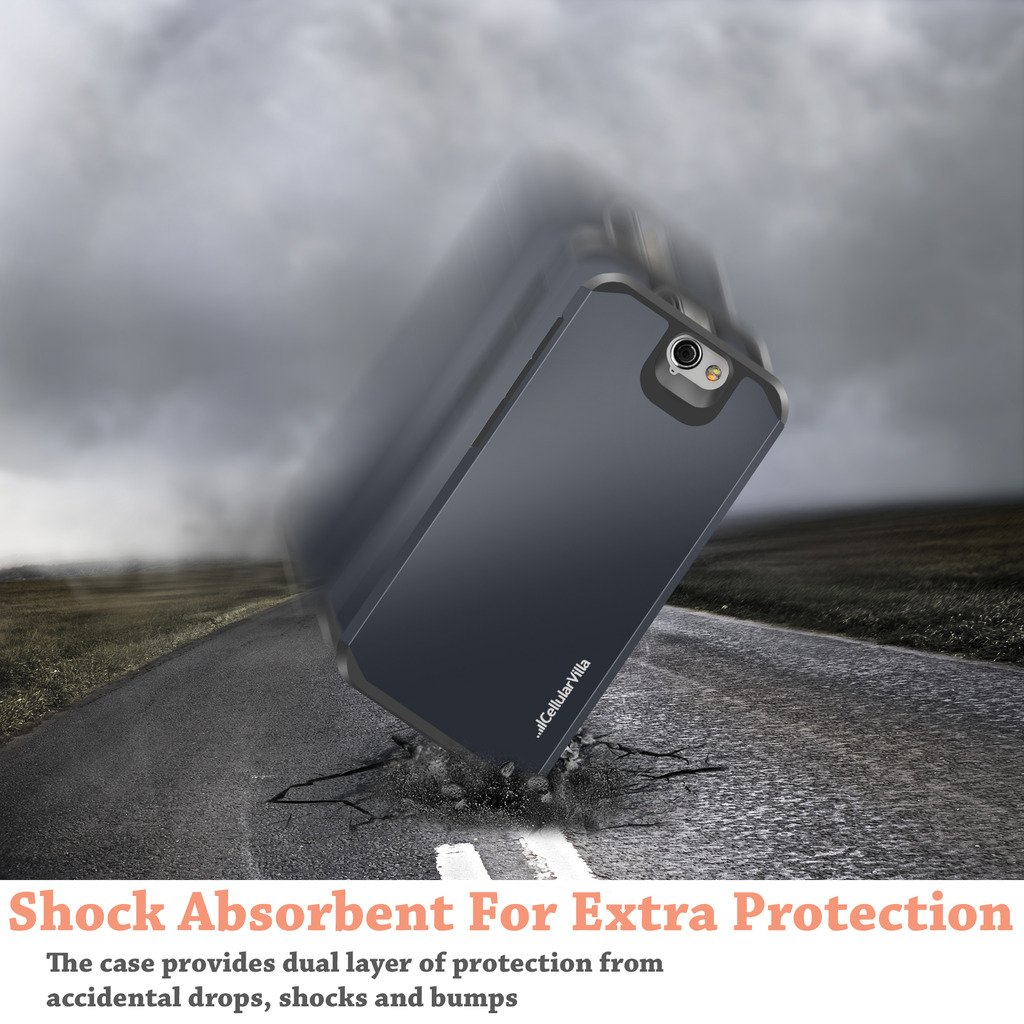 Cellularvilla Hybrid Protector Shockproof Midnight Image 3