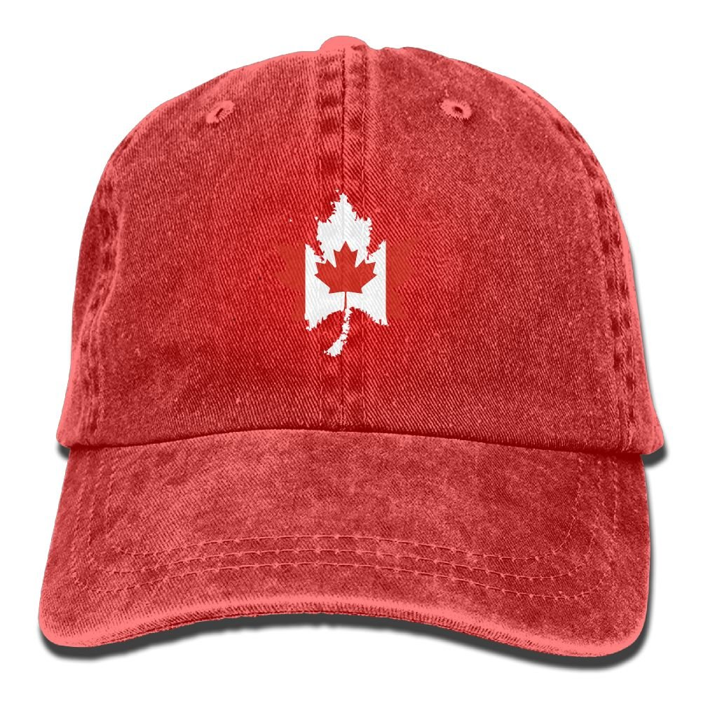db62d62d3407e3 OPS Canada Flag Canadian Maple Leaf Adult Sport Adjustable Baseball Cap  Cowboy Hat at Amazon Men's Clothing store: