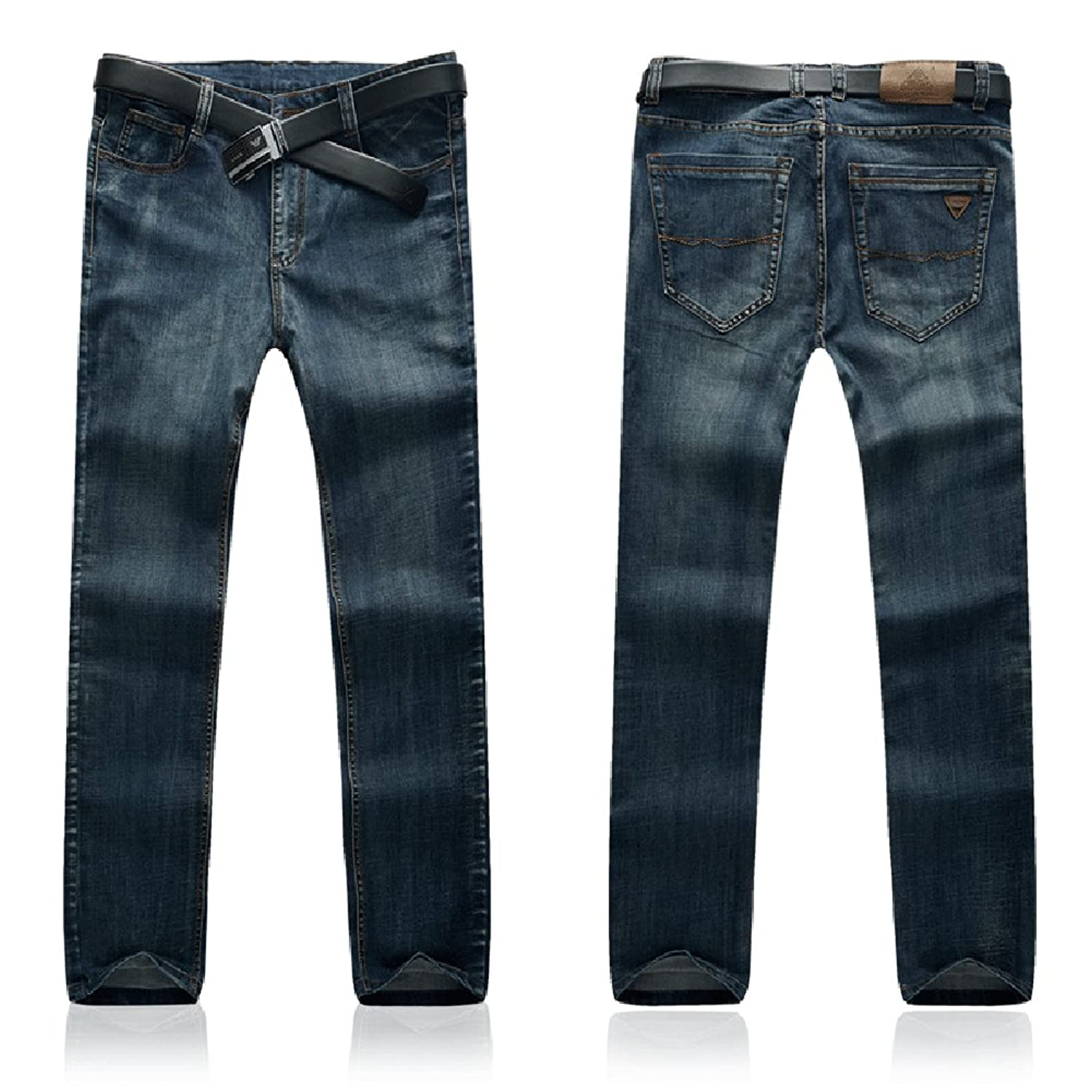SITENG Men`s Jeans Plus Size 34 36 38 40 42 44 46 48 50 Denim Pants Jeans