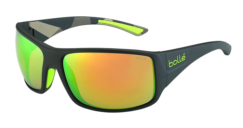 Bolle TIGERSNAKE Sunglasses (Matte Black/Polarized Fire OLEO AF)