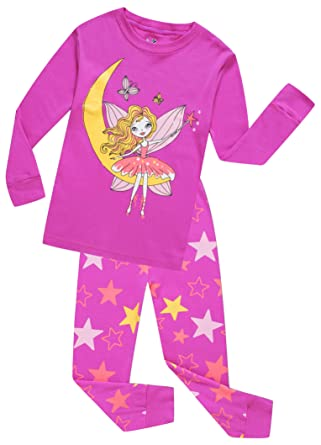f1bc09b387 Elf Pajamas for Girls Children Clothes Set 100% Cotton Little Kids  Sleepwear Toddler Christmas Pjs