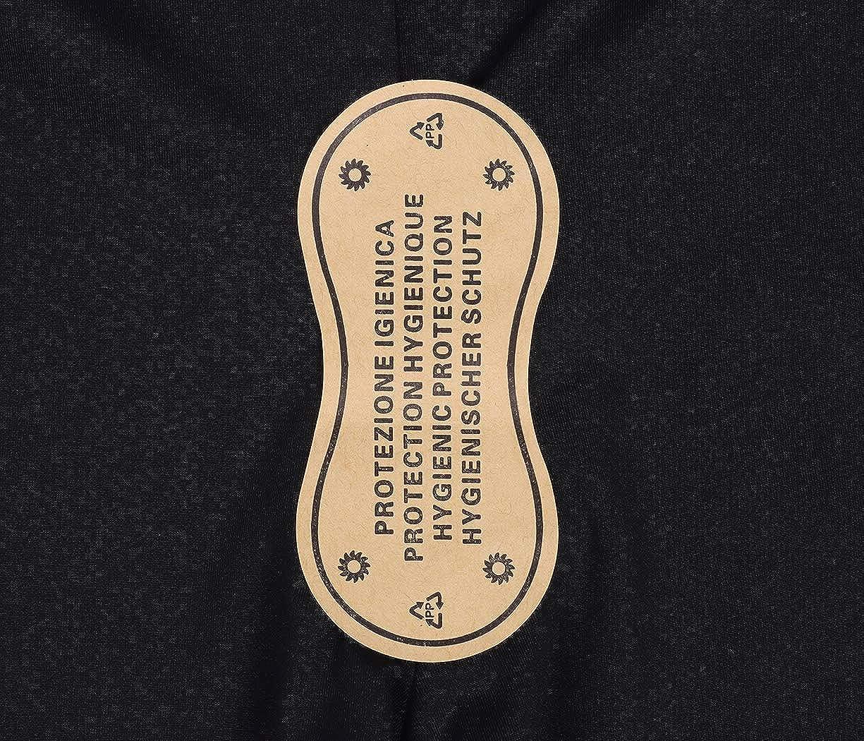 AmzBarley Mère et Fille Maillot de Bain Deux Pièces Ensembles Tankini Femme Parent Enfant Costumes de Natation Vintage Haut Taille Haute Bikinis Noir 337-02