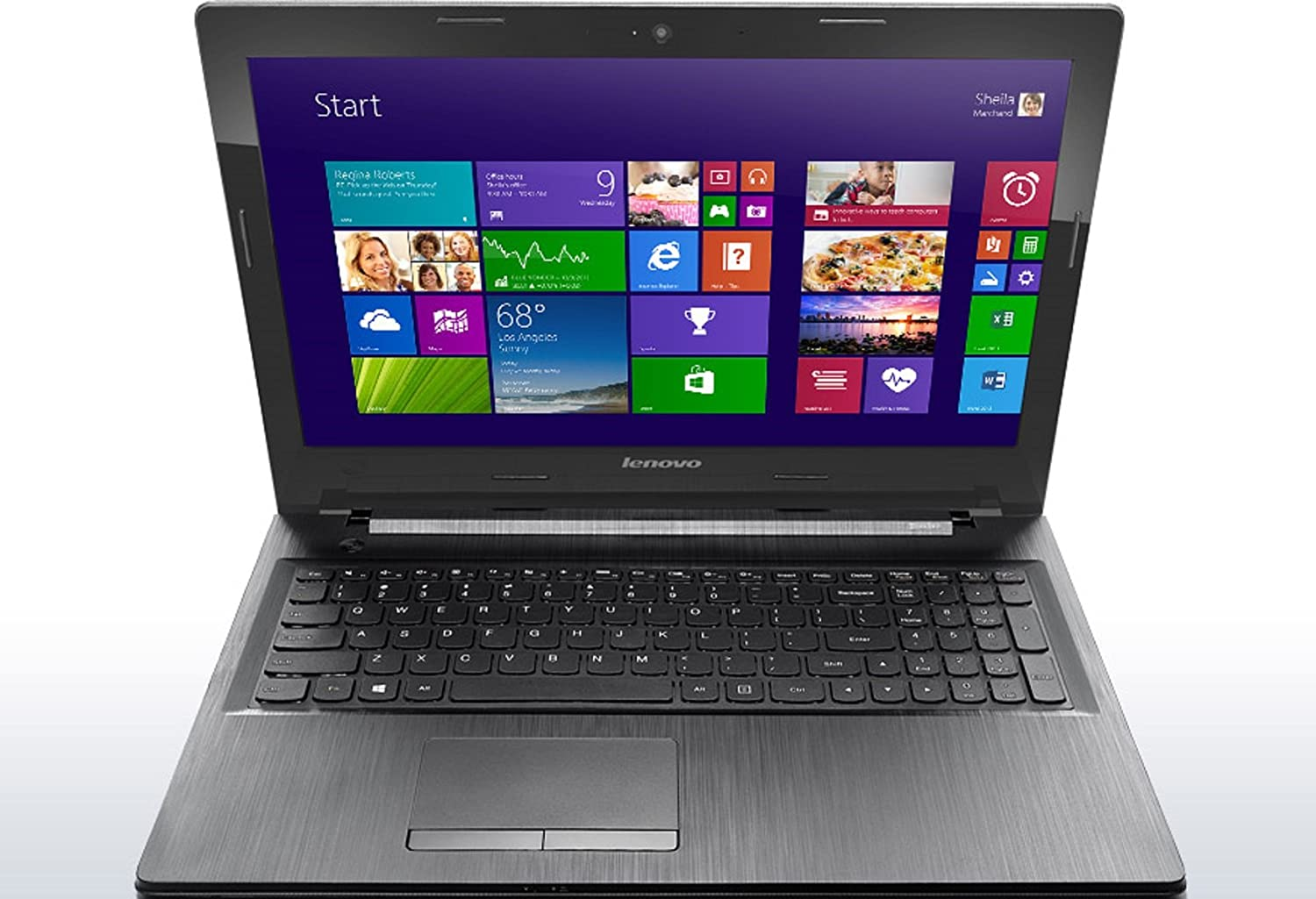 Amazon.com: Lenovo G50-80 80E501U3US 16-Inch LED Notebook ...