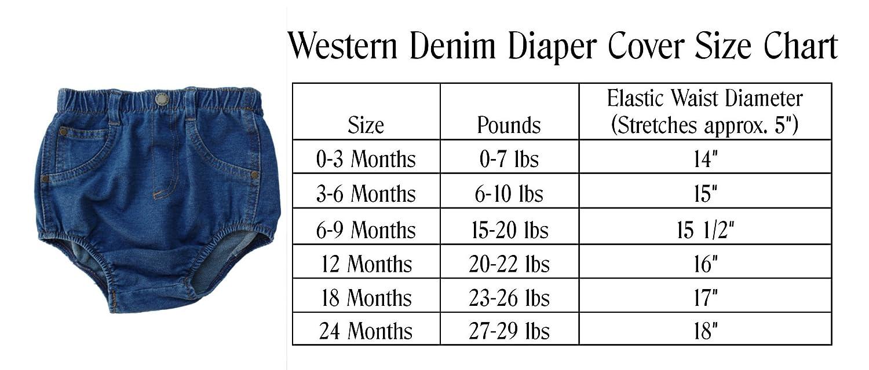4Rodeo Denim Diaper Cover