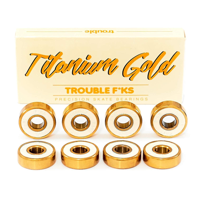 Amazon.com: Trouble - Rodamientos de titanio para monopatín ...