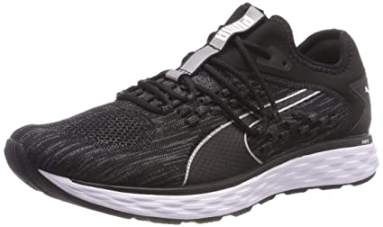23e6bc00274b Amazon.com  PUMA Speed 600 FuseFit Mens Running Shoes - Black-10.5 ...