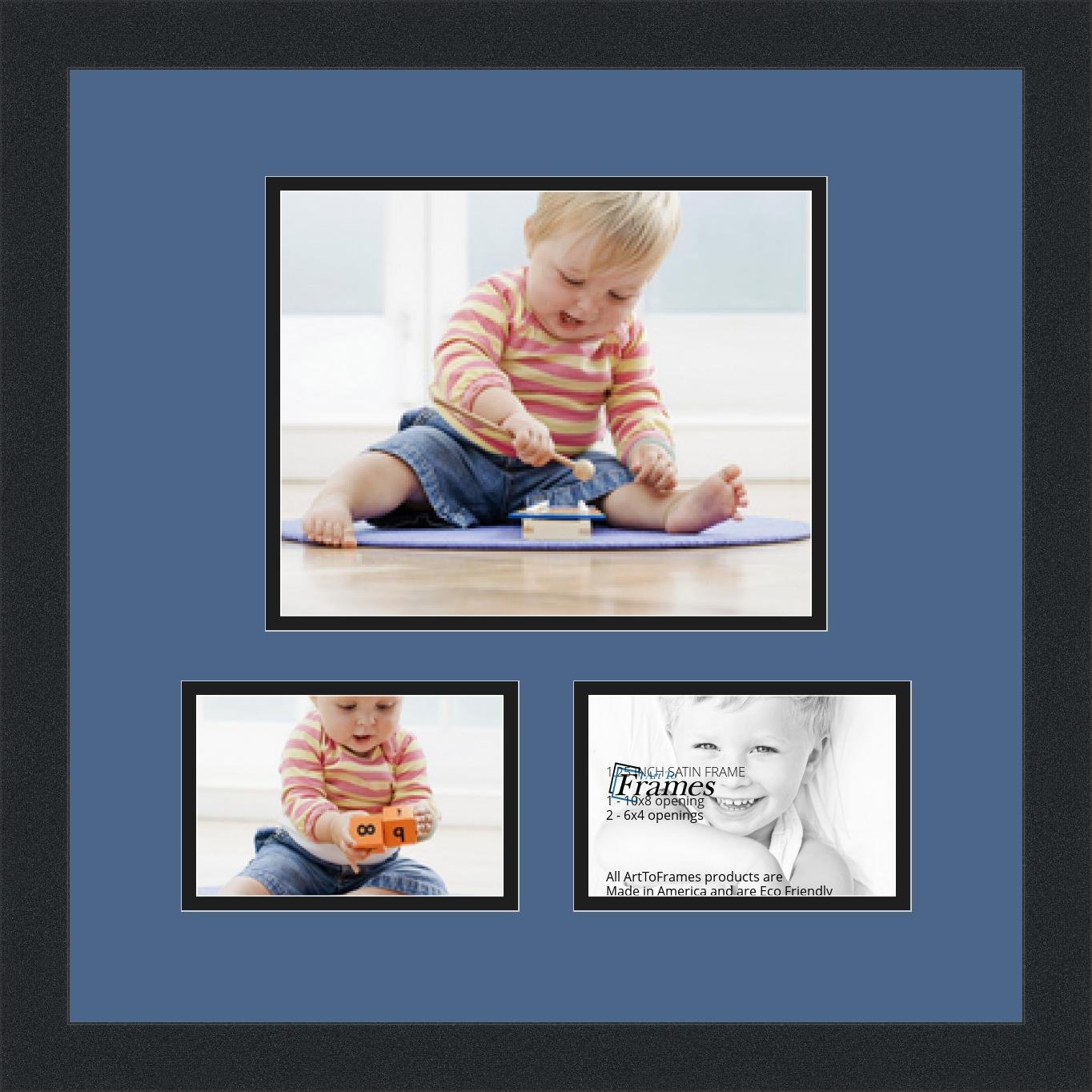 arttoframes alphabet写真画像フレームwith 1 8 5 x 11 and 2 11 x
