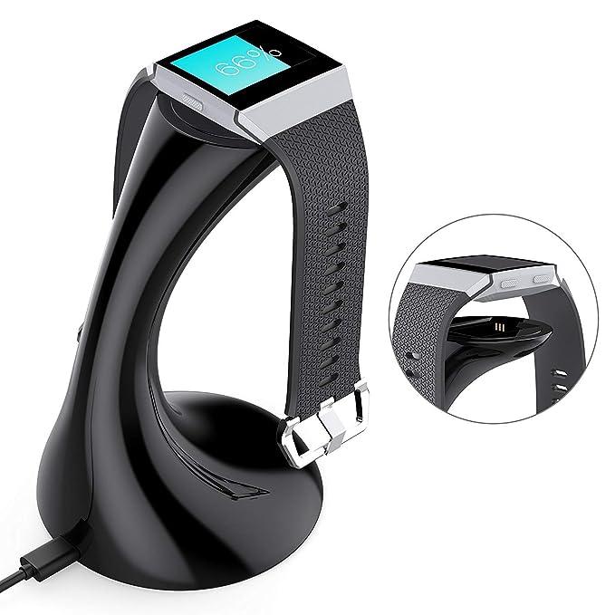 Besmon Cable para Fitbit Ionic Cargador Accesorios Carga ...