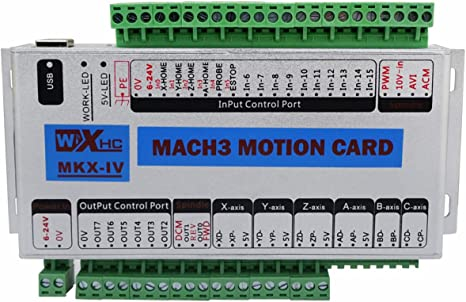 usb mach3 125 khz motion controller karte ausbruch board für cnc gravier 4
