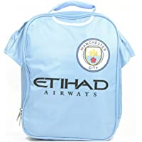 Manchester City FC Official Football Kit Lunch Bag