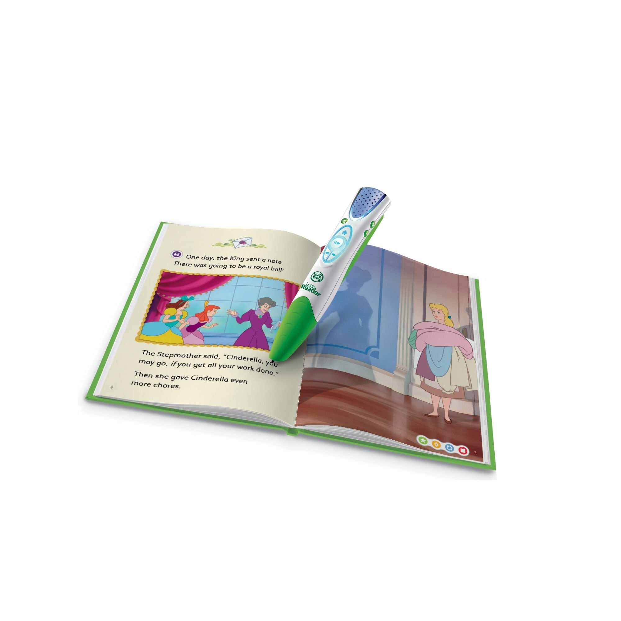 LeapFrog LeapReader Book: Disney Cinderella: The Heart That Believes (works with Tag) by LeapFrog (Image #1)