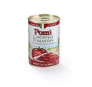 Pomì Chopped Tomatoes Can, 14.1 oz, 12 Pack