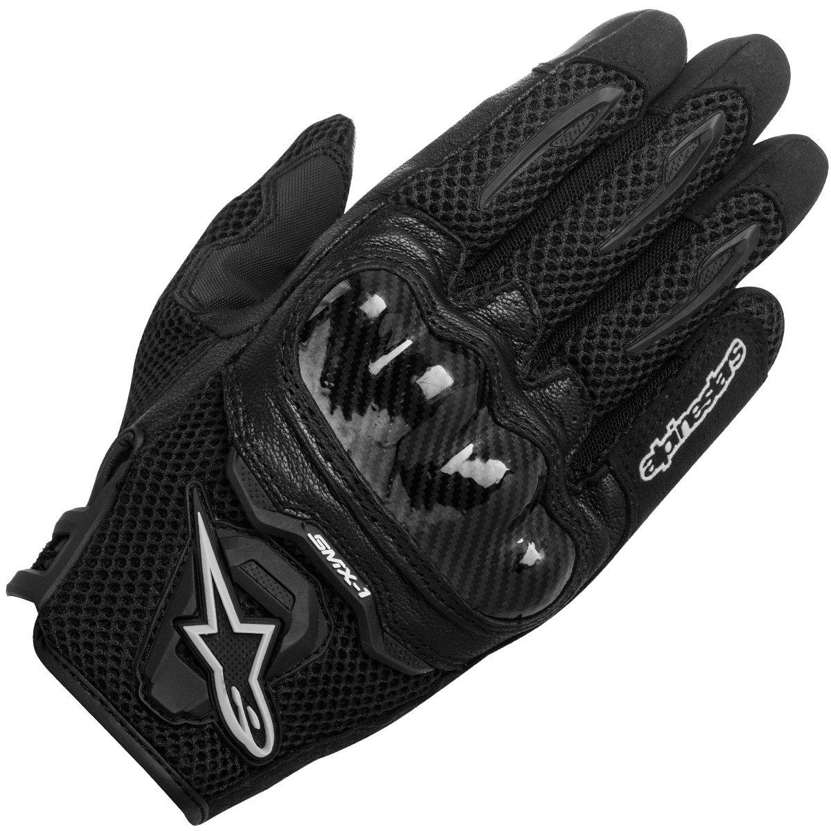 Alpinestars SMX-1 Air Women's Street Motorcycle Gloves - Black/Small