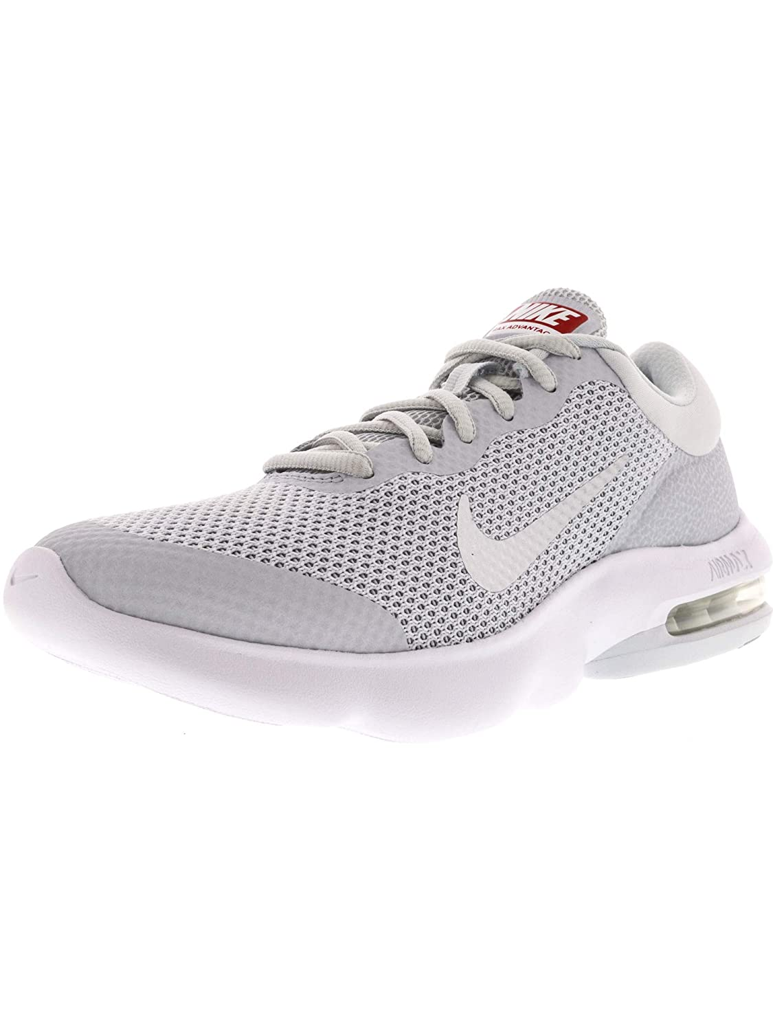 promo code 6e128 4e2c7 Nike Women s Air Max Advantage Running Shoe Pure Platinum White Wolf Grey  Size 7 M US  Buy Online at Low Prices in India - Amazon.in