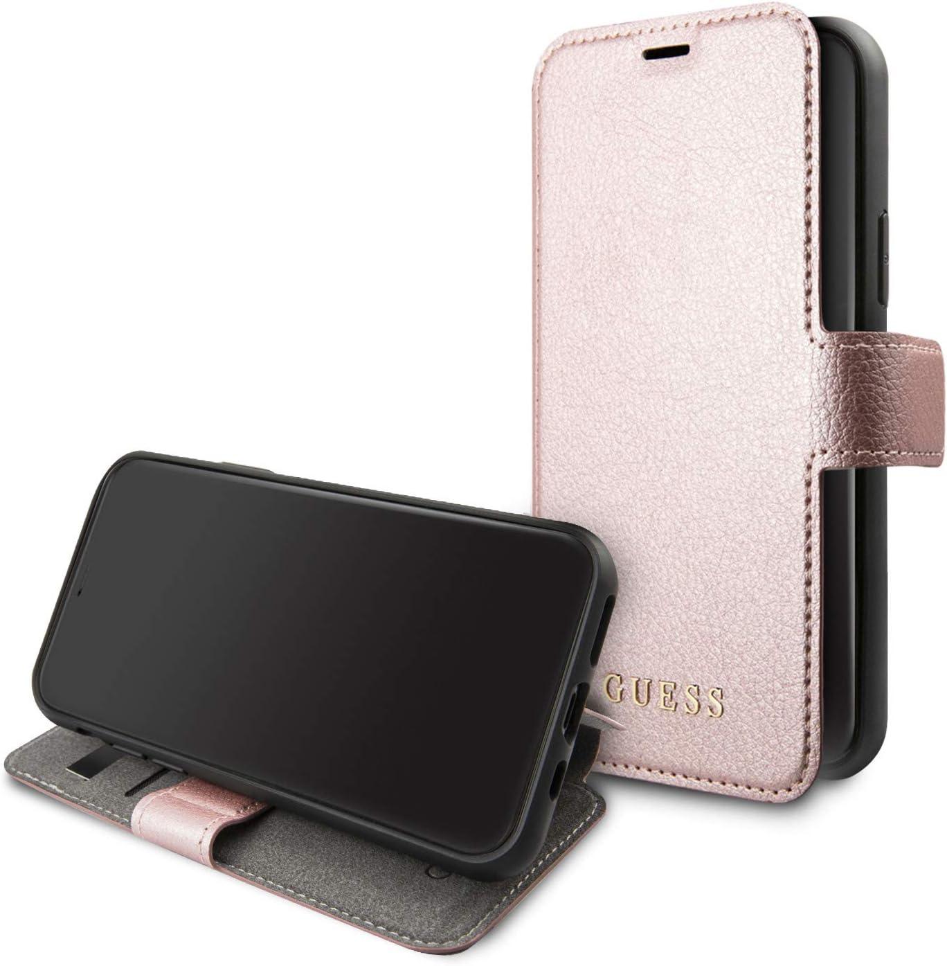 Guess Funda iPhone 11 Pro MAX Tipo Libro con Tarjetero: Amazon.es: Electrónica