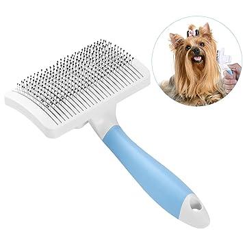 UEETEK Cepillos de Aseo de Mascotas, Perro Gatos Cepillo de Masaje Peines, Auto Limpieza