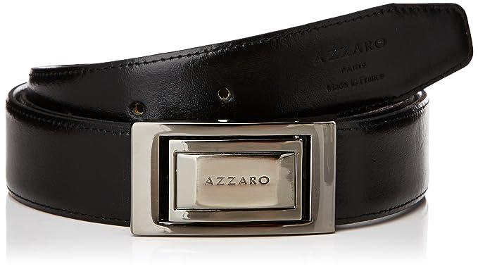 Azzaro Z1321339, Ceinture Homme, Multicolore (Noir Marron), (Taille  Fabricant badd7982744