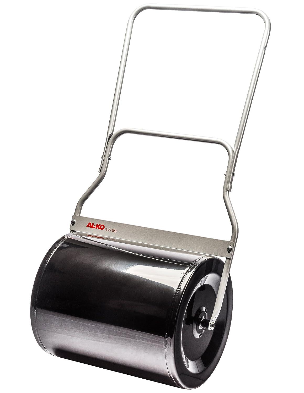 Schmutzabstreifer Gewicht mit Sandf/üllung 120 kg oder mit Wasser 72 kg inkl 50 cm Arbeitsbreite AL-KO Gartenwalze GW 50 stabile Ausf/ührung in Stahlblech