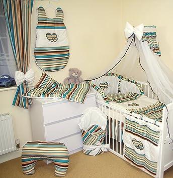 Moskitonetz aus Chiffon Farbe weiss für Kinderbett 10 Farben