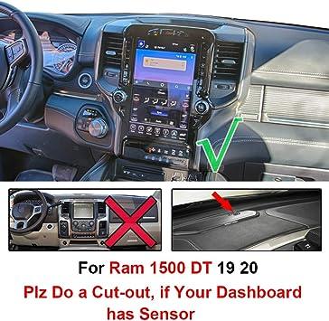 DashMat UltiMat Dashboard Cover Dodge Ram Pickup Premium Carpet, Mocha