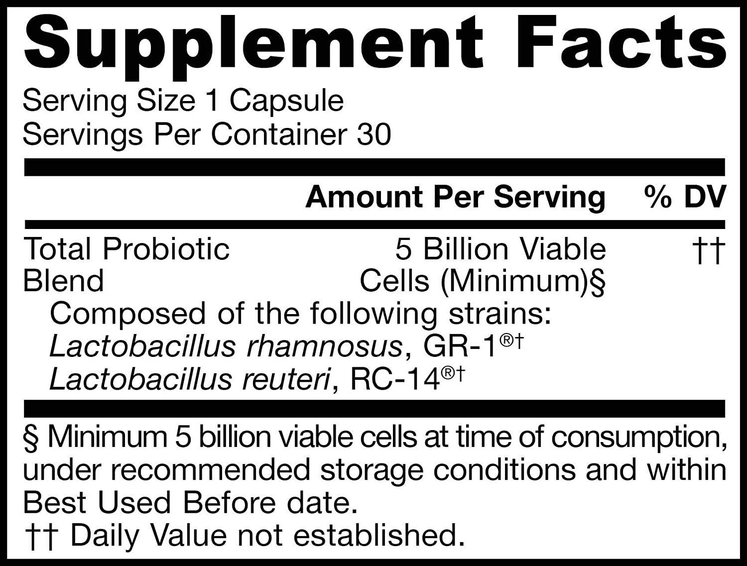 Jarrow Formulas Fem Dophilus, Oral Probiotic for Natural Women and Urinary Tract Health, 5 Billion Cells, 30 Capsules
