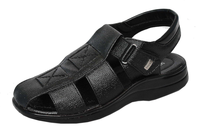 MAGIC TREE Stylish Leather Sandal for