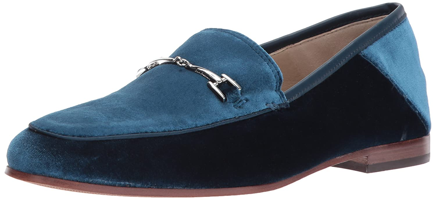 Jewel bluee Velvet Sam Edelman Women's Loriane Loafer Flats
