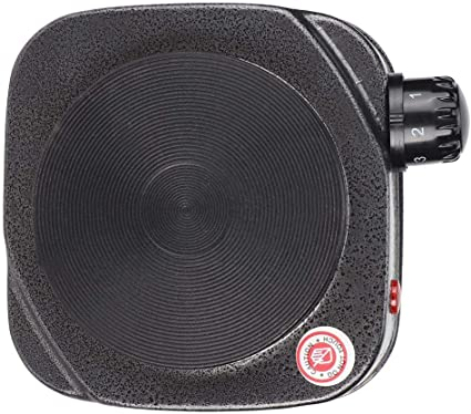 pour le bureau /à domicile Four /électrique /à plaque de chauffage pour po/êle /électrique multifonctions prise UE 220-230V gris argent