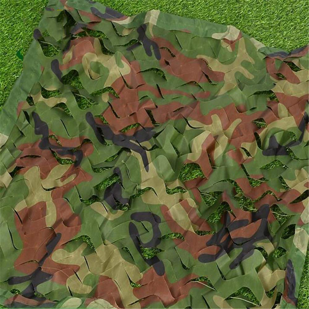 2x3m Jungle Camouflage Camouflage Net Multi-Size Single-Layer Camouflage Net Camouflage Shade Net Sunscreen Hidden Cover Cloth