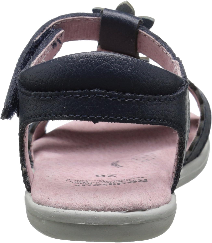pediped Girls Sidra Closed Toe Sandals