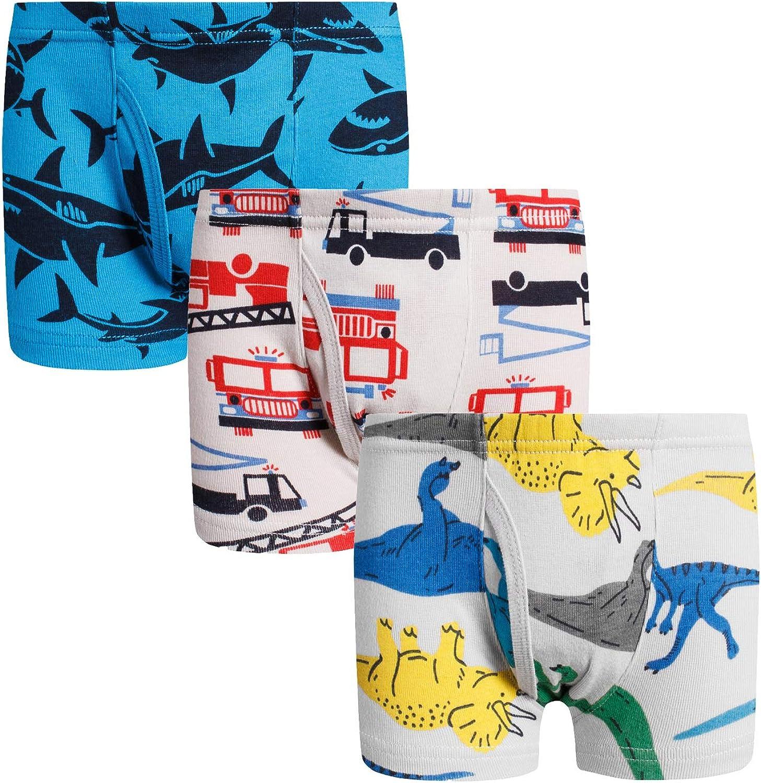Boys Boxer Briefs Shorts Cotton Dinosaur Shark Baby Toddler Underwear for Kids Boy 3//6 Pack