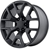 "Wheel Replicas V1176 Wheel with Satin Black Finish (20x9""/6x5.5"")"
