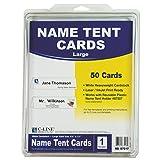 C-Line 87517 Printer-Ready Name Tent Cards, 11 x 4