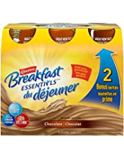 CARNATION BREAKFAST ESSENTIALS, Ready to Drink Meal Replacement, Chocolate, 6x237ml Bottles