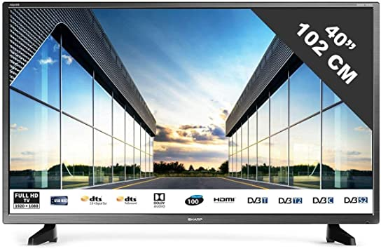 TV LED Full HD 101 cm (40 pulgadas) Sharp 40CF2E: Amazon.es: Electrónica