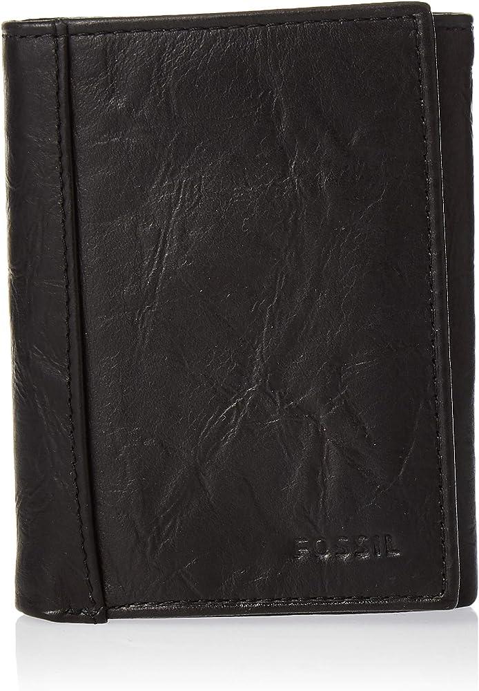 Fossil MEN Leather Tri-Fold Wallet