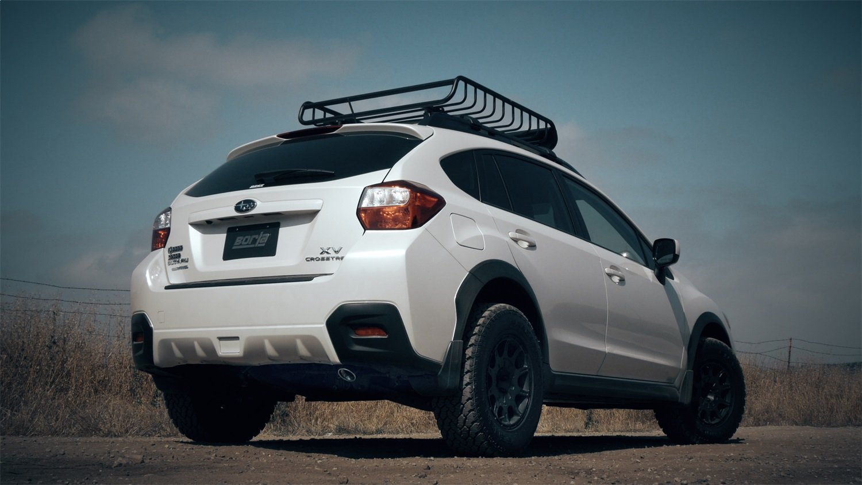 BORLA 11843 Rear Section Exhaust System for Subaru Impreza/XV Crosstrek