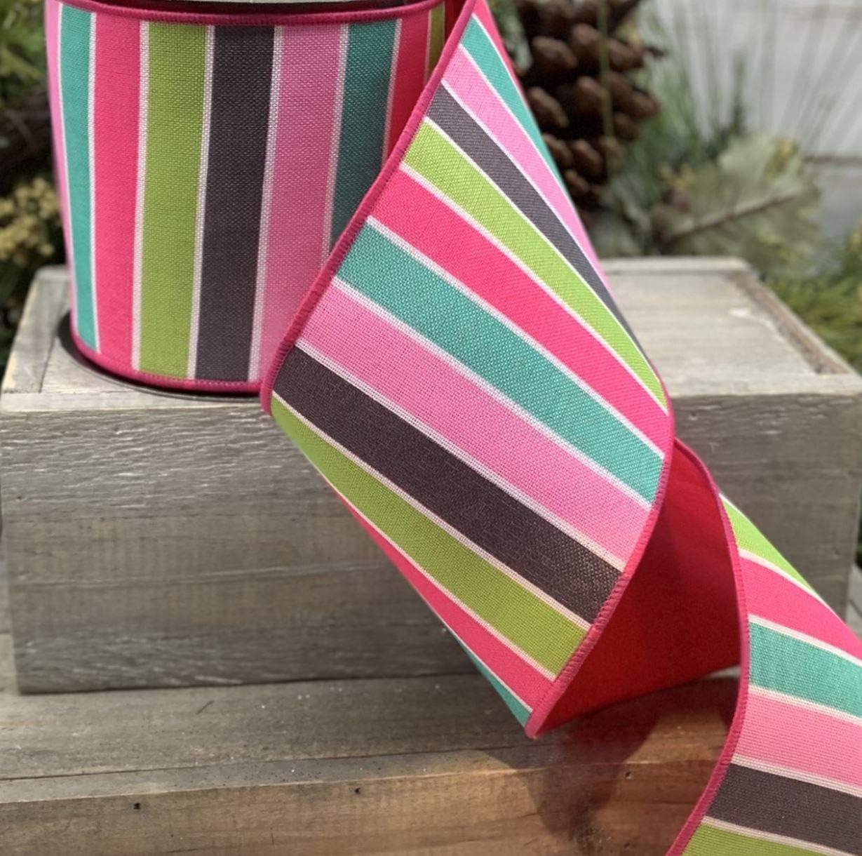 taupe ribbon wired ribbon velvet ribbon plush velvet ribbon 4 inch ribbon luxury ribbon D Stevens ribbon wreath ribbon spring ribbon