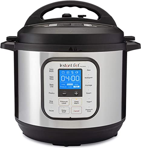 Amazon Com Instant Pot Duo Nova Pressure Cooker 7 In 1 8 Qt Best For Beginners Kitchen Dining