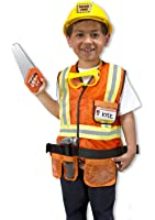 Melissa & Doug Kids Construction Worker Outfit