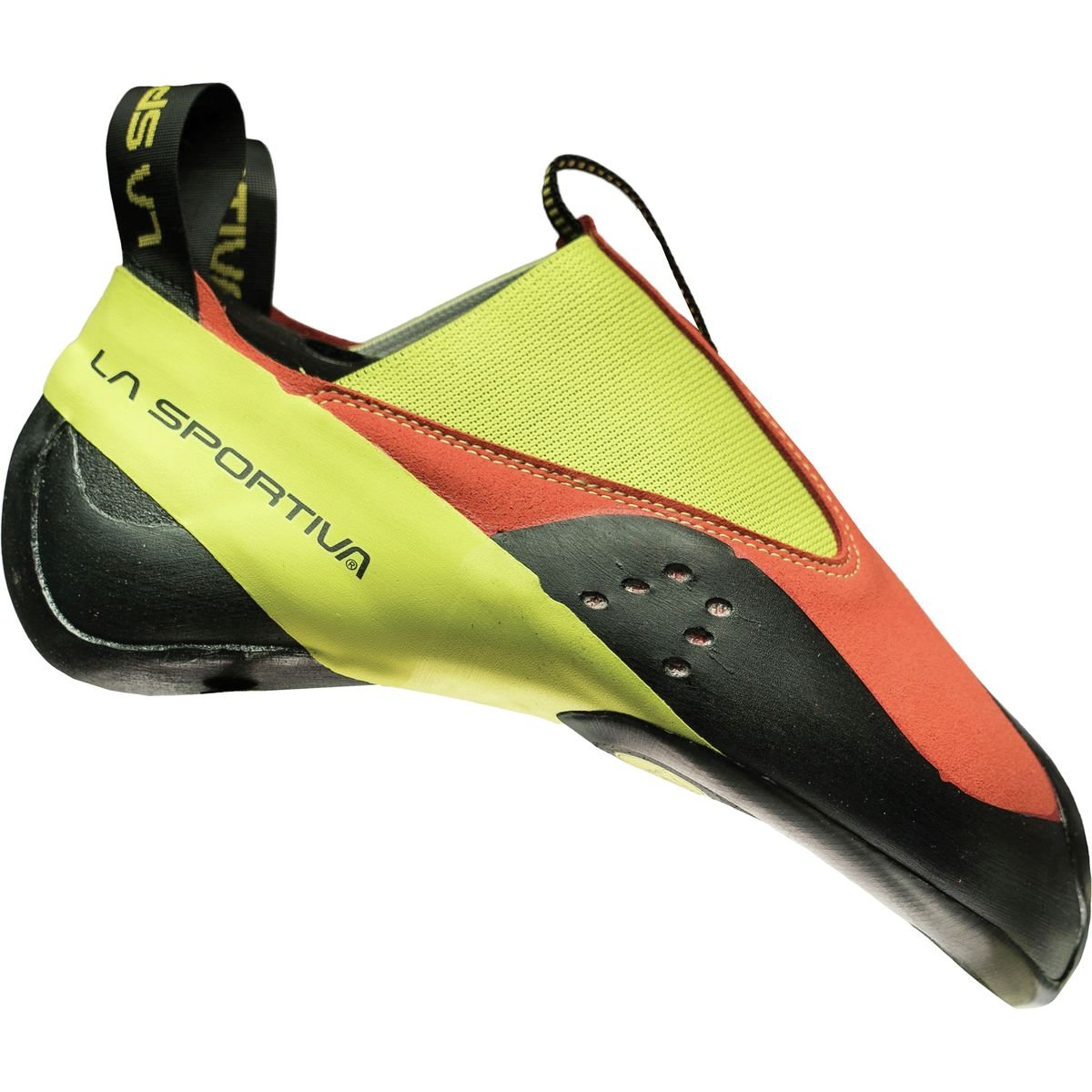 La Sportiva Maverink Climbing Shoe - Men's B01K7UXMSY 32 (US Men's 1) D - Medium|Flame/Sulphur