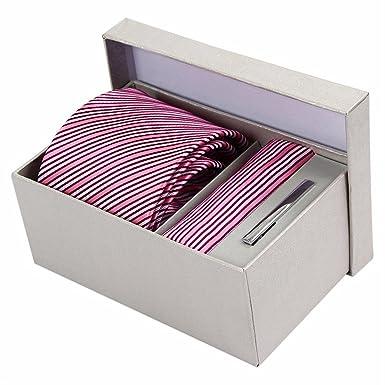HXCMAN - Corbata - para hombre rosa Rosa Talla única: Amazon.es ...