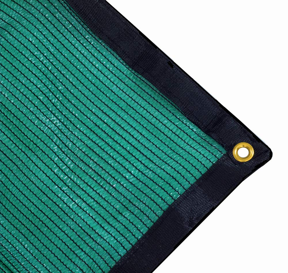 Harvest 70% Green Shade Cloth with Grommets, Premium Heavy Duty Mesh Tarp (20ft X 10ft) by Harvest (Image #1)